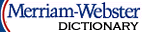 Merriam-wbster Dictionnary